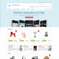 ShopCart - OpenCart theme with