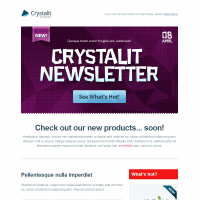 Crystalit Newsletter - What U See